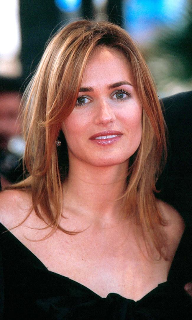 portrait de judith godreche à Cannes