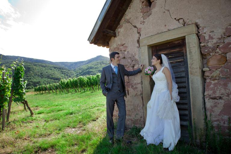 mariés dans les vignes